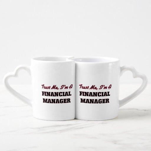 Trust me I'm a Financial Manager Lovers Mug Set