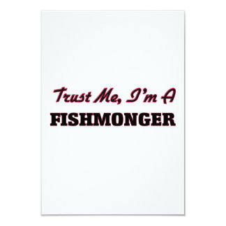 Trust me I'm a Fishmonger Custom Invitation