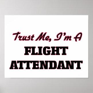 Trust me I'm a Flight Attendant Posters