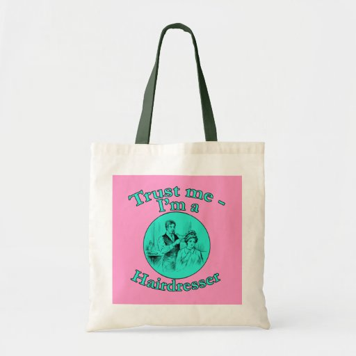 Trust Me I'm a Hairdresser Products Canvas Bag