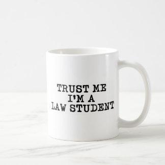 Trust Me I'm a Law Student Basic White Mug