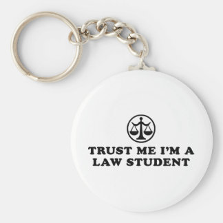 Trust Me I'm A Law Student Keychain