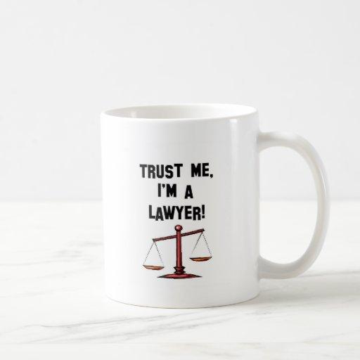 Trust me Im a lawyer Basic White Mug