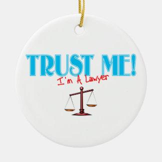 Trust Me I'm A Lawyer Ornament