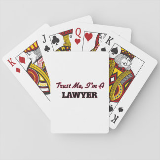 Trust me I'm a Lawyer Playing Cards