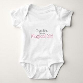 Trust Me, I'm A Magical Girl Baby Bodysuit