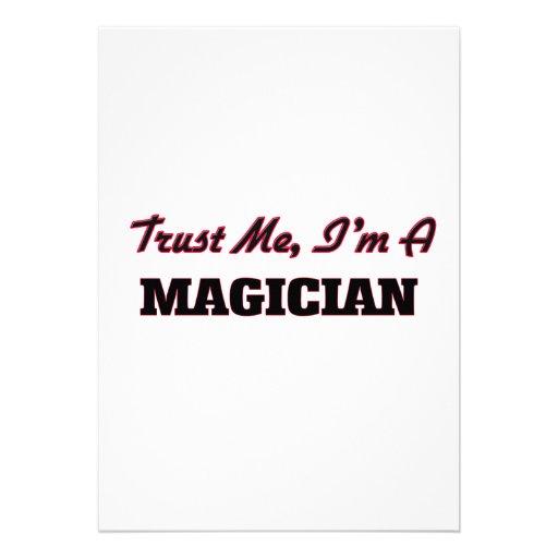 Trust me I'm a Magician Announcements