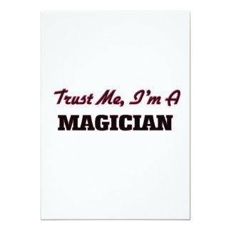 Trust me I'm a Magician 13 Cm X 18 Cm Invitation Card