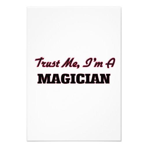 Trust me I'm a Magician Personalized Invite