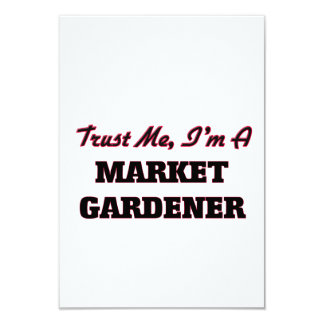 Trust me I'm a Market Gardener Custom Invites