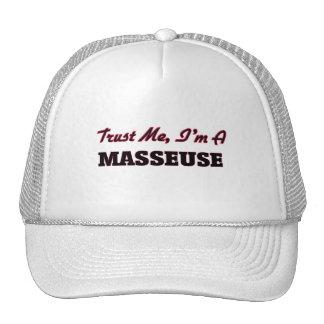 Trust me I'm a Masseuse Trucker Hat