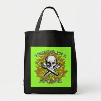 Trust Me I'm a Mechanic Apparel, Travel Mugs, Gift Canvas Bag