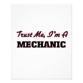 Trust me I'm a Mechanic Flyers