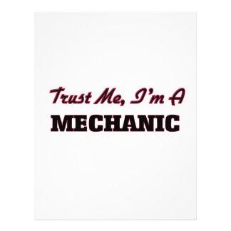 Trust me I'm a Mechanic Flyer
