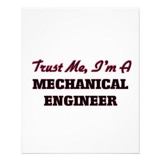 Trust me I'm a Mechanical Engineer Flyer
