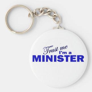 Trust Me I'm a Minister Key Ring
