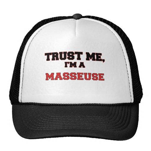 Trust Me I'm a My Masseuse Mesh Hat