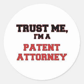 Trust Me I'm a My Patent Attorney Sticker