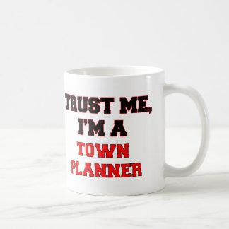 Trust Me I'm a My Town Planner Basic White Mug