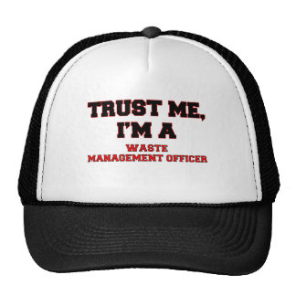 Trust Me I'm a My Waste Management Officer Cap