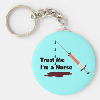Trust Me I'm a Nurse Key Ring