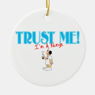 Trust Me I'm A Nurse Ornament