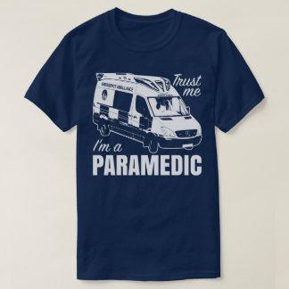 Trust Me I'm A Paramedic Emergency Ambulance Tee