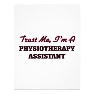 Trust me I'm a Physioarapy Assistant 21.5 Cm X 28 Cm Flyer