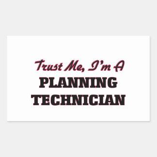 Trust me I'm a Planning Technician Stickers