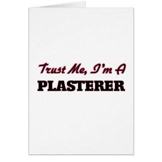 Trust me I'm a Plasterer Card