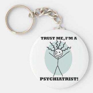 Trust Me I'm A Psychiatrist Keychains