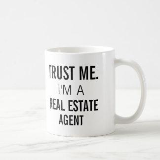 Trust Me I'm A Real Estate Agent Mug