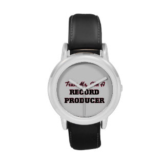 Trust me I'm a Record Producer Wrist Watches
