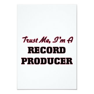 Trust me I'm a Record Producer Custom Invitation