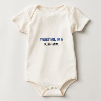 Trust Me I'm a Runner Baby Bodysuit