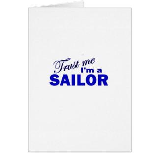 Trust Me I'm a Sailor Card