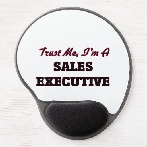 Trust me I'm a Sales Executive Gel Mouse Mat