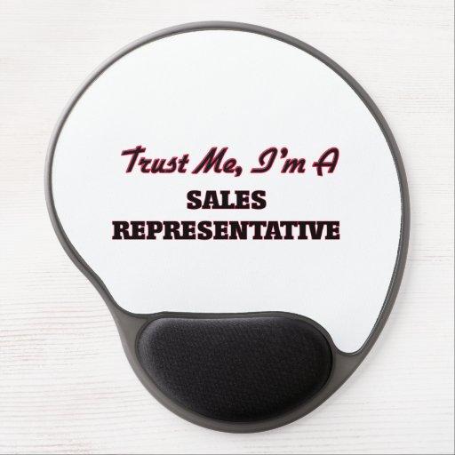 Trust me I'm a Sales Representative Gel Mouse Mats