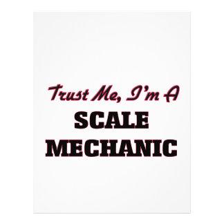 Trust me I'm a Scale Mechanic Flyers