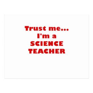 Trust Me Im a Science Teacher Postcards