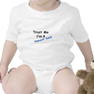 Trust Me I'm A Smart Girl Tshirt