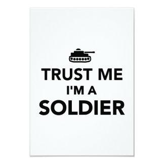 Trust me I'm a Soldier Invite