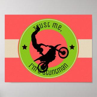 Trust me, I'm a stuntman Poster