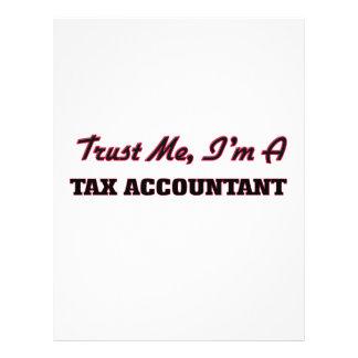 Trust me I'm a Tax Accountant Flyers