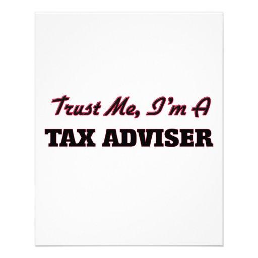 Trust me I'm a Tax Adviser Full Color Flyer