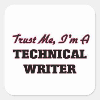 Trust me I'm a Technical Writer Sticker