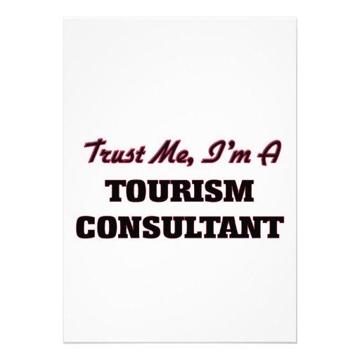 Trust me I'm a Tourism Consultant Card