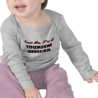 Trust me I'm a Tourism Officer T-shirts