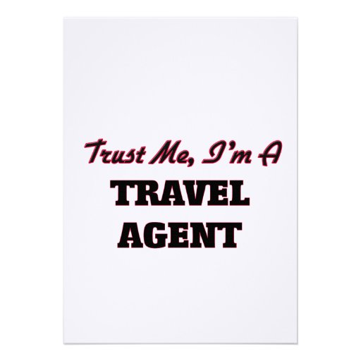 Trust me I'm a Travel Agent Cards