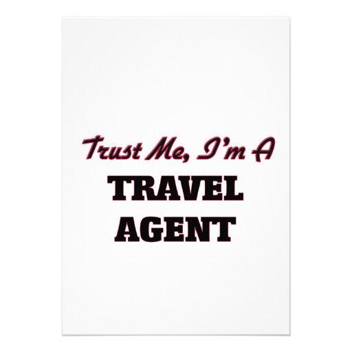 Trust me I'm a Travel Agent Card